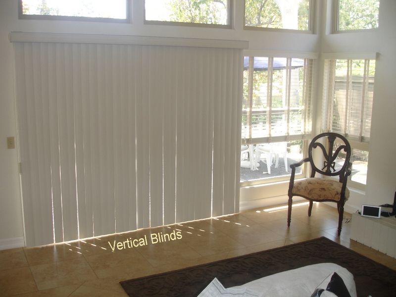 glass door shade